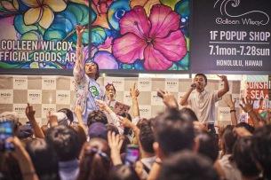 FNCY、渋谷熱狂のリリースライヴを敢行
