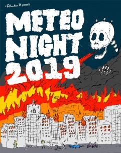 〈METEO NIGHT 2019〉タイムテーブル発表! DEATHROからリミエキまで狂乱の夏祭り