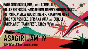 〈朝霧JAM 2019〉第1弾出演アーティスト発表にCORNELIUS、BADBADNOTGOOD、HOT CHIP、くるり、ceroら