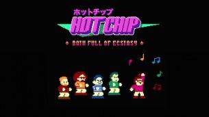来日公演を控えるホット・チップがゲーム・レビュー動画風MV「Bath Full Of  Ecstasy」公開