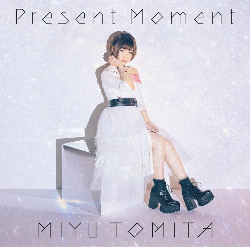 富田美憂、11/13発売のソロデビューSG「Present Moment」ジャケ写公開