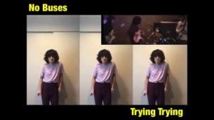 No Busesが未収録曲の「Trying Trying」のMV公開