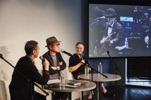 高橋幸宏、林立夫やBEAMS RECORDSの青野賢一とトークショーを開催