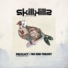 skillkills、「Delicacy/NO END THEORY」7inchレコードでリリース
