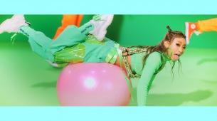 倖田來未 新曲「k,」のMVでガムボールダンス披露