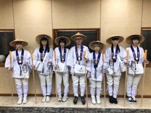 BiSH、愛媛県内の霊場26ヶ所を巡るお遍路達成