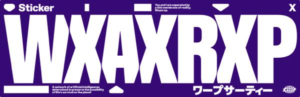伊勢丹新宿店メンズ館でWXAXRXPポップアップストア開催決定