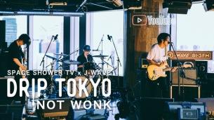 スペシャ × J-WAVE「DRIP TOKYO」、NOT WONKの独占ライブを公開