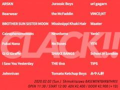 インディーロック・イベント〈CLACK!!〉最終出演者発表。No Buses、uri gagarnなど計21組が出演