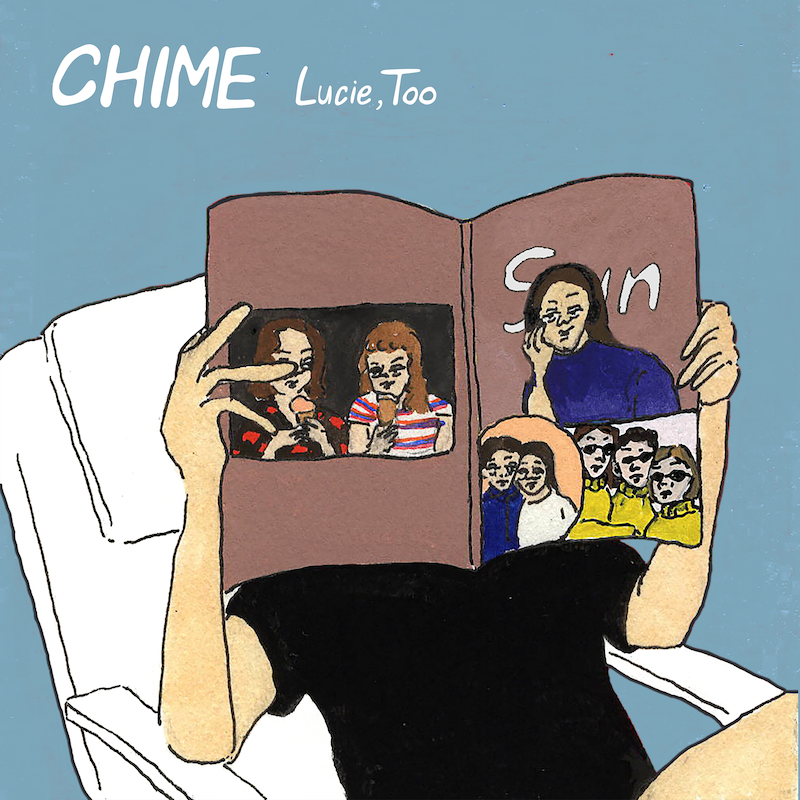 Lucie,Too、新EP『CHIME』をOTOTOYから新曲含むボートラ2曲付きで配信