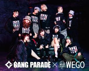 GANG PARADE、メジャー1stAL発売記念にWEGOと再びコラボ