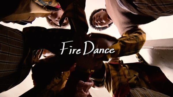 CUBERS、限定シングル「Fire Dance」メンバー手書きのリリックMV公開