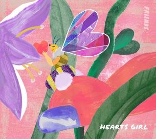 フレンズ、初のメンバー制作による「HEARTS GIRL」MV公開