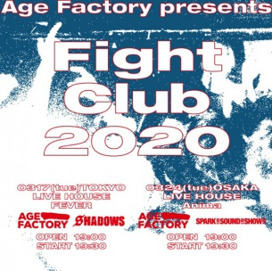 Age Factory自主企画にSHADOWS、SPARK!!SOUND!!SHOW!!が出演