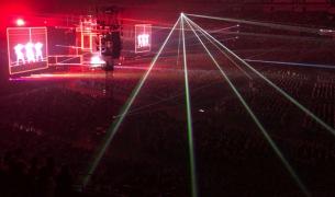 Perfume初の全国4大ドームツアー、京セラドーム大阪公演で幕開け