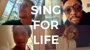 ボノ、ウィル・アイ・アム、ジェニファー・ハドソン、YOSHIKIがコラボ曲を発表