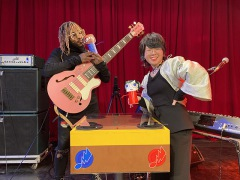 サンダーキャットが再びEテレ「シャキーン!」出演、「サウンドファイターズ」で中村佳穂と対決