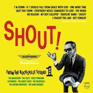 ザ・コルツ、ラヴェンダーズ、THE GANG BUSKERS、ザ・マックショウら参加の最新コンピ盤『SHOUT!~FROM THE ROCKSVILLE STUDIO ONE』4/30発売 記念ライヴ配信もあり