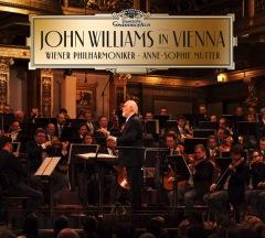 ジョン・ウィリアムズがウィーン・フィルを指揮したライヴ・アルバムを8月14日発売
