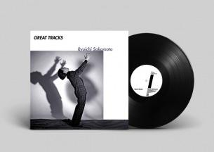 坂本龍一新規コンピ『GREAT TRACKS』アートワーク初公開