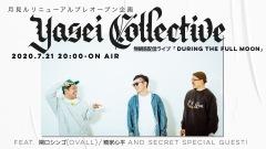 Yasei Collective、7/21に無観客配信ライヴを開催