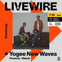 Yogee New Waves初となる配信ライブ開催