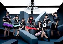 天晴れ!原宿がAppare!に改名、生配信ライヴで新曲「だいきらいフューチャー」お披露目!