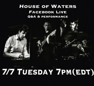 House of WatersがFacebookライヴを開催