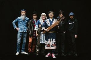 OKI DUB AINU BAND、新録「EAST OF KUNASHIRI」をバンド初のデジタルリリース