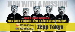 MAN WITH A MISSION、再起を誓う2daysライヴ開催