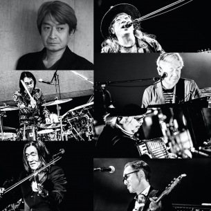 ムーンライダーズ、〈カメラ=万年筆〉無観客ライヴのゲストに佐藤奈々子が出演