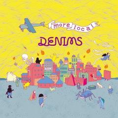DENIMS、9/16発売ミニ・アルバム『more local』の全曲タイトルと曲順を解禁
