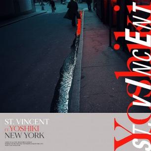 St.Vincent、YOSHIKI(X JAPAN)とのコラボ・シングルを配信リリース