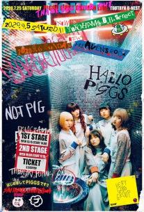 PIGGS「はじめましてPIGGSです!!~神奈川・埼玉編~」開催決定