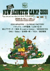 New (Lifestyle) Acoustic Camp 2020 出演者&タイム・テーブル発表