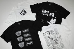 J-HIP HOP黎明期レジェンドアーティストの90 年代作品を再解釈したコラボTシャツ発売