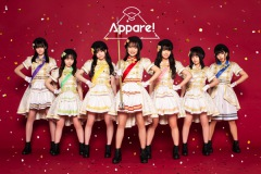 Appare!新体制初のツアー〈Appare! Parade〉開催決定