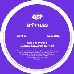 Battles最新作『Juice B Crypts』の表題曲をデルロイ・エドワーズがリミックス