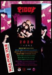 "PIGGS初のツアー〈WALK or PORK TOUR〉決定 前代未聞の ""徒歩ツアー""敢行"