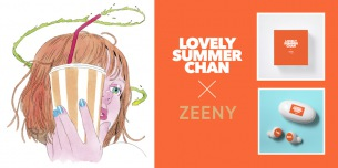ラブサマちゃん録り下ろしボイス入りワイヤレス・イヤフォン「Zeeny Lights」コラボ・モデルの発売が決定