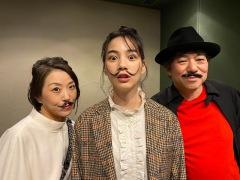 のん&大友良英&Sachiko M、3人によるユニット「のんとも。M」初アルバム12月24日発売