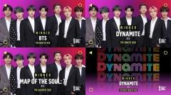 BTS、米〈2020 ピープルズ・チョイス・アワード〉 4冠達成