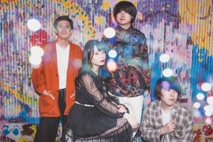 大阪発の4人組、POP ART TOWNが2ndアルバム『Sensation』レコ発ワンマン開催&初のライヴ配信も