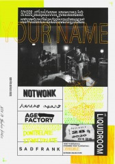 NOT WONK、12/28自主企画〈Your Name〉にカネコアヤノ、Age Factory