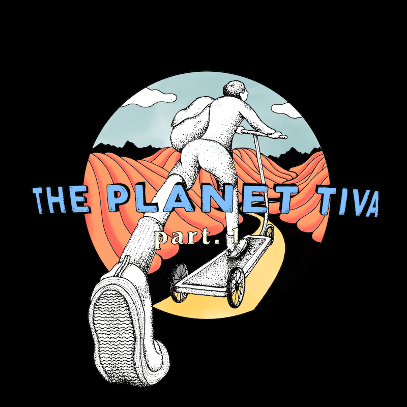THE ティバ、2枚のEP『THE PLANET TIVA part.1』『THE PLANET TIVA part.2』のリリース決定